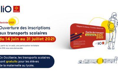 Transports scolaires rentrée 2021-2022